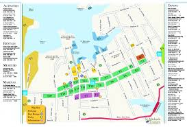 Map Of Maryland Map Of St Michaels St Michaels Tourism Md