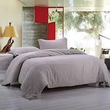 Linen Bed Covers - linen duvet cover amazon com