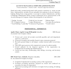 sle college resume for accounting students software summary of qualifications sle resume accounting new cover