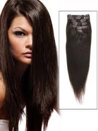 tressmatch hair extensions tressmatch 20 22 remy remi human hair clip in extensions dark