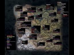 secret map ghost recon wildlands all weapon locations on secret map