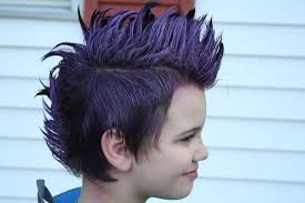 crazy hair ideas for 5 year olds boys applique today purple hair and circles