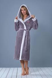 robe de chambre eponge femme de chambre a capuche