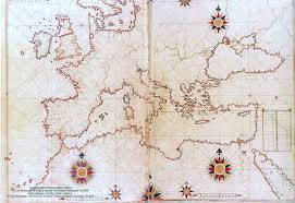 Map Of Europe 1500 by Piri Reis A Genius 16th Century Ottoman Cartographer And