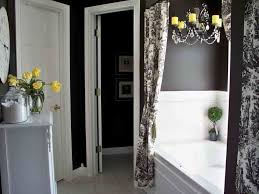 Grey And Yellow Bathroom by Bathroom Curtains What To Choose And How To Decorate