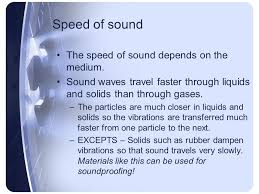 What Travels Faster Light Or Sound Sound And Light Unit 9 Chapter Ppt Video Online Download