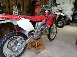 just bought an u002705 cr250 honda 2 stroke thumpertalk
