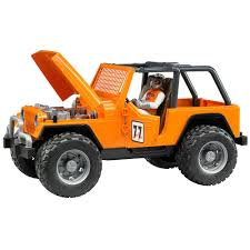 jeep olx amazon com bruder jeep cross country racer vehicle with driver