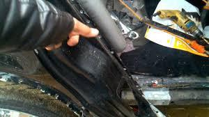 nissan sentra quarter panel rear quarter panel replacement part 1 youtube
