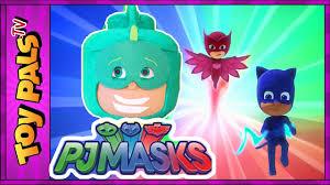 pj masks toys gekko surprise play doh egg pj masks eggs toy kids