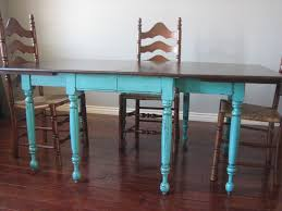blue painted dining table inspiring painting kitchen chairs ideas u tips from pict for blue