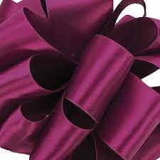purple satin ribbon single satin ribbon 427 purple wine