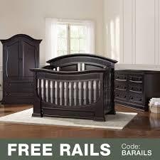 Espresso Nursery Furniture Sets by Baby Appleseed Chelmsford 3 Piece Nursery Set Convertible Crib