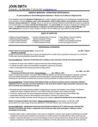 Sample Resume General by 10 Best Best Operations Manager Resume Templates U0026 Samples Images
