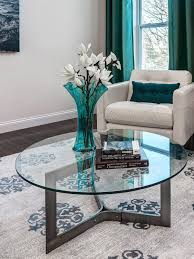 Hgtv Contemporary Living Rooms by A Bold Contemporary Rug Ties Together The Solid Black And White