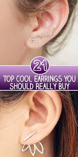 cool ear rings top 21 cool earrings you should really buy