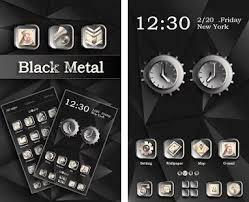 hello go launcher ex theme apk black metal go launcher theme apk version v1 0