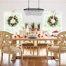 dining room christmas decor christmas decor for dining rooms