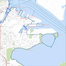 North End Boston Map by Boston Harbor Walk Maplets