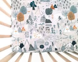 Crib Mattress Sheets Fitted Crib Sheet Etsy