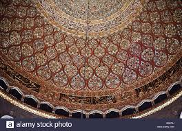 Dome Of Rock Interior The Dome Of The Rock Jerusalem Interior View Of Inner Dome