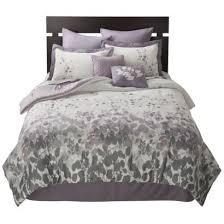 White Gray Comforter Best 25 Purple And Grey Bedding Ideas On Pinterest Purple Grey