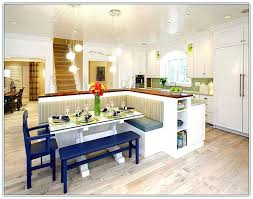 bench for kitchen island awe inspiring kitchen island with built in seating dining bench on
