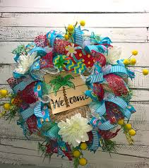 summer wreath on sale summer wreath summer wreath for front door summer palm