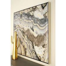 40 in marble inspired framed canvas wall art 52074 the home depot marble inspired framed canvas wall art