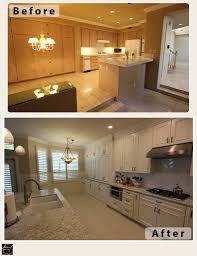 laguna hills transitional white l shaped kitchen u0026 home remodel