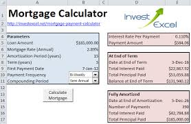 loan formulas how to calculate mortgage payments in excel