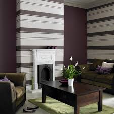 Black Damask Wallpaper Home Decor by Living Room With Wallpaper Home Decorating Interior Design