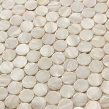 penny round backsplash tiles for kitchen and bathroom wall mother
