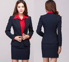 2015 autumn winter fashion women business work wear suits formal