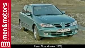 nissan almera review 2000 youtube