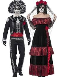 day of the dead costumes couples day of the dead costumes fancy me limited