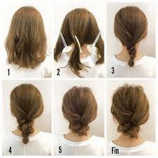 directions for easy updos for medium hair best 25 medium hair updo ideas on pinterest hair updos for