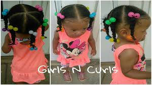 natural hair styles for 1 year olds easy hairstyle for 1 year old toddler 5 ponytails natural hair