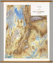 Raven Maps Utah Physical David Rumsey Historical Map Collection