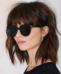 2015 lob hairstyles beautiful lob shaggy hairstyles with bangs 2015 2016 full dose