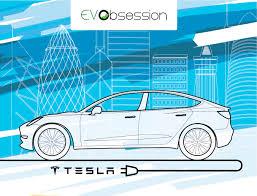 nissan leaf vs tesla model 3 is tesla model 3 already eating massively into premium gas car