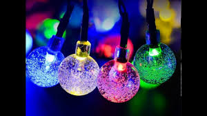 String Of Fairy Lights by Solar Outdoor String Lights Fairy Lights Decoration Lights