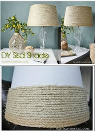 themed l shades 21 beautifully stylish rope projects that will beautify your