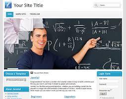 joomla education templates professional educationl free joomla 1 6 template from themza