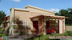 1800 square feet modern single floor house kerala home design