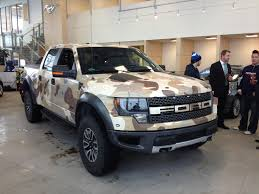 ford hunting truck ford f 150 raptor vinyl wrapped in camo perfect hunting truck