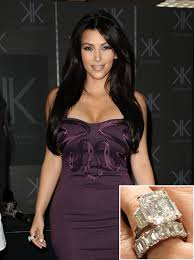 Kim Kardashian Wedding Ring by Ten Of The Most Expensive Celebrity Engagement Rings My Wedding