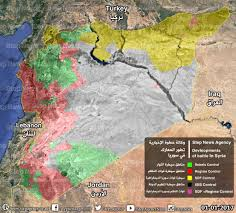 Syria Battle Map by Step News Agency