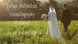 wedding cinematography europe destination wedding cinematography giveaway weddbook