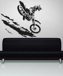 vinyl wall decal sticker motocross os aa193